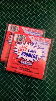 PACK 2 ud. Cuerdas GHS Boomers para Floyd Rose 09-42 nuevas