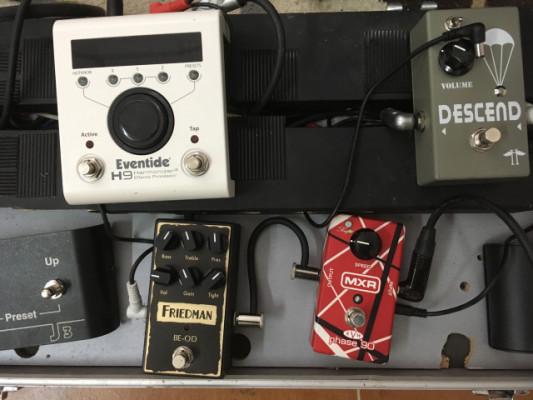 Vendo estos pedales, Eventide H9, Friedman, Phase EVH, Descend