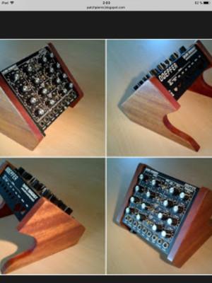 Vendo doepfer dark energy 2 con orejas de madera y botón glide