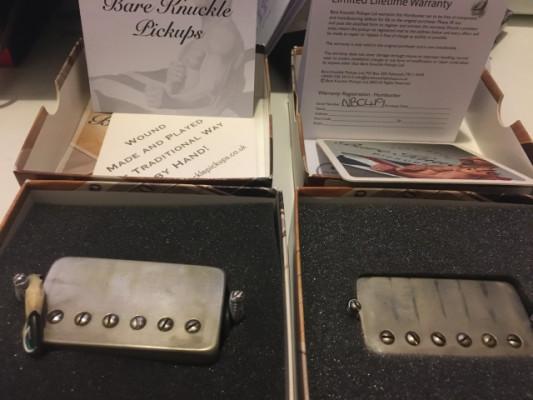 Bare Knuckle Nailbomb (alnico) Aged Nickel