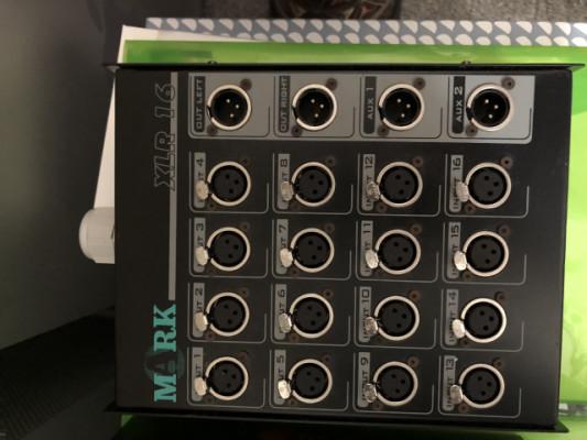 Manguera con varios conectores y Caja de conexiones