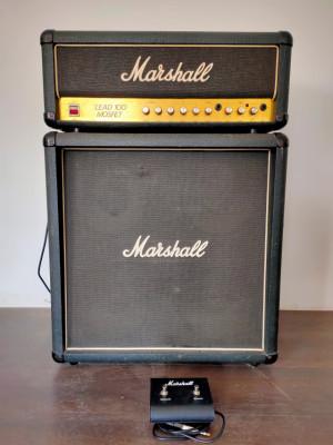 Marshall Lead 100 Mosfet + pantalla