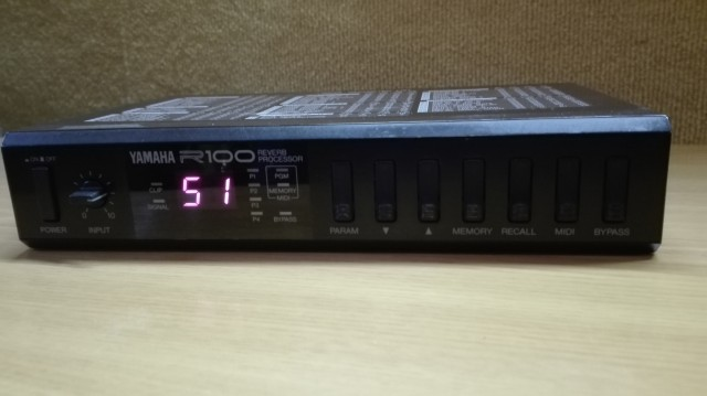 Procesador Yamaha R100