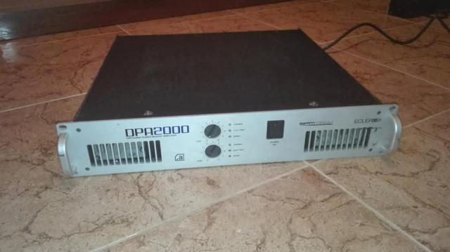 Etapa de potencia ECLER DPA2000