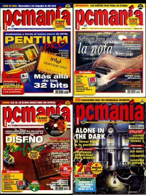 Colección revistas PCMANIA - Nº 16 a 83
