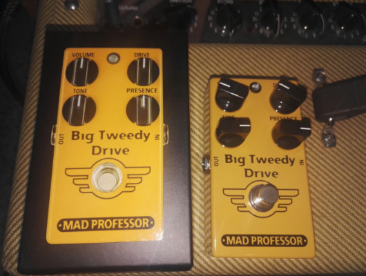 Big Tweedy Overdrive. Mad Professor. A estrenar!.
