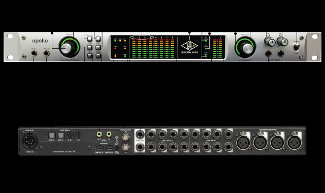 Apollo Quad Firewire Universal Audio