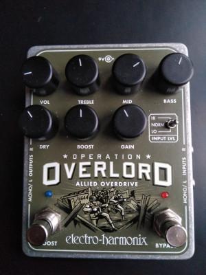 Electro Harmonix Overlord Overdrive/Boost