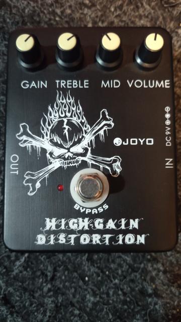 Joyo high gain y Demon tubescreamer