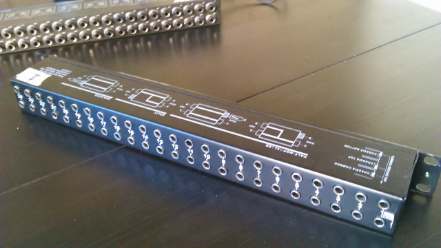 Neutric patchbay