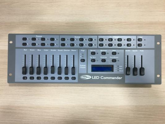 Mesa DMX Showtec LED Commander