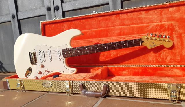 Fender Stratocaster - guapa, guapa !