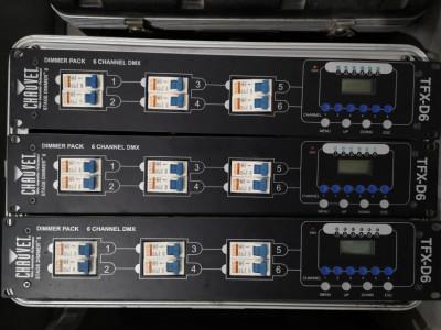 Vendo Chauvet tfx-6D