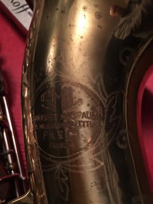 SML 1955 Saxo Tenor Autentico