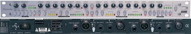 Focusrite Compounder Compresor Limitador y Bass Expander