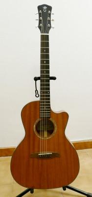 Guitarra acústica Gary Levinson LGC-22 MVT  + Fishman Matrix VT