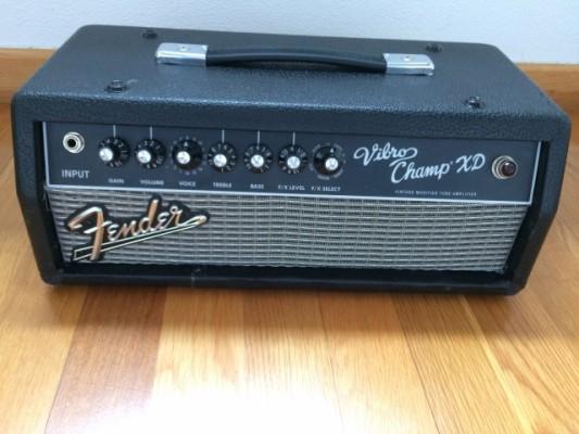 - Fender vibro champ xd - convertido en cabezal