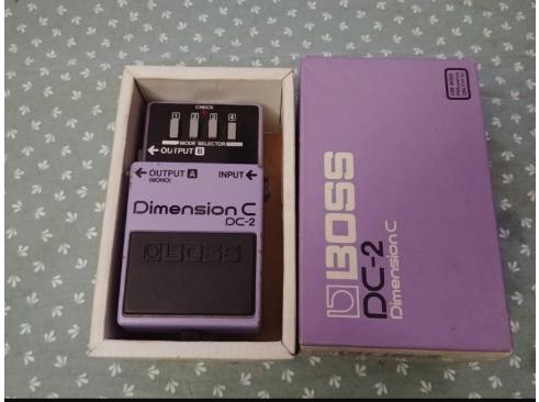 Boss Dimension C DC 2. Original japones de 1986.