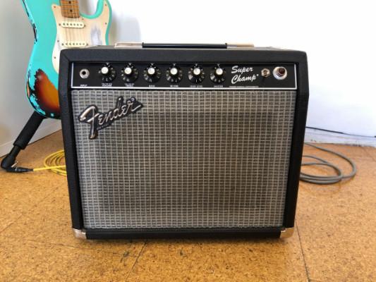 Fender Super Champ 18 watts Handwired (Paul Rivera) 1983