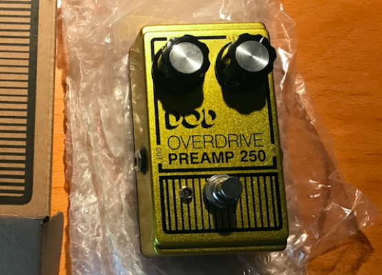 DOD Overdrive Preamp 250