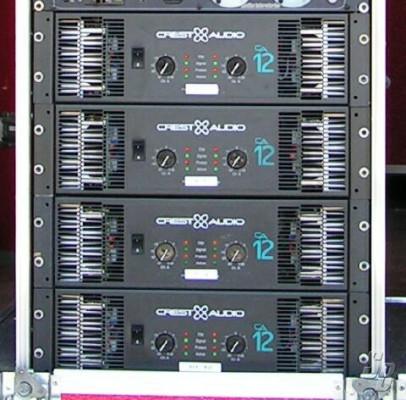 Etapas Crest & Audio CA12 (4unidades)