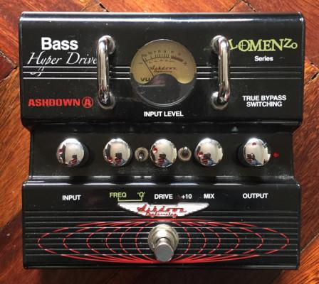 Ashdown bass hyperdrive Lomenzo