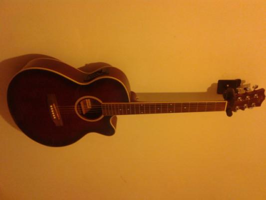 Guitarra acústica amplificable, cambio por eléctrica o española
