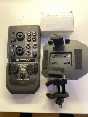 Zoom U-24 interface de audio USB pc/mac/iphone/ipad