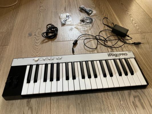 iRig Keys Pro teclado controlador universal de 37 teclas