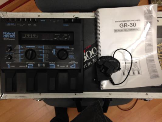 GR30 y pastilla GK3 con manual de instrucciones