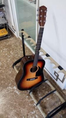 Guitarra acústica Fender CD-60 SB + Bolsa acolchada