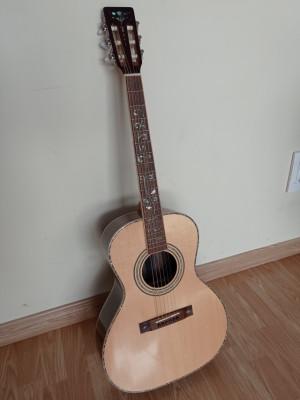 Acústica parlor Harley Benton CLF-200 WN (o cambio por ampli pequeño)
