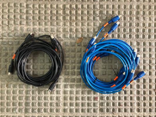 Pack de cables MIDI