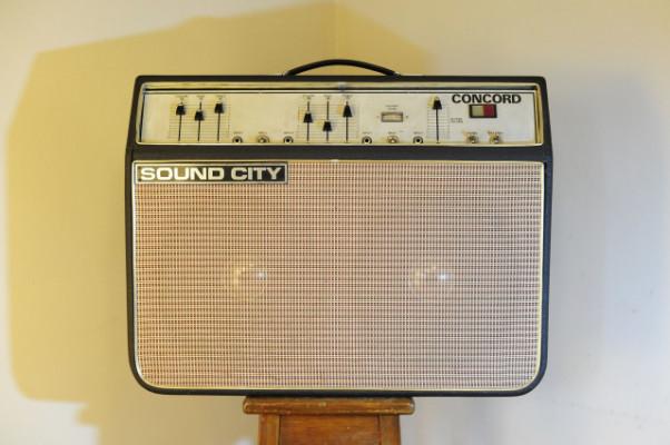 Amplificador Sound city Concord (Rebajado)