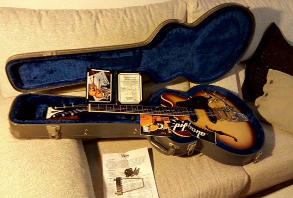 vendo Epiphone Casino 50th Anniversary 1961 reissue