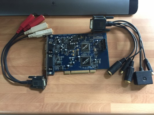 Tarjeta E-Mu 0404 PCI