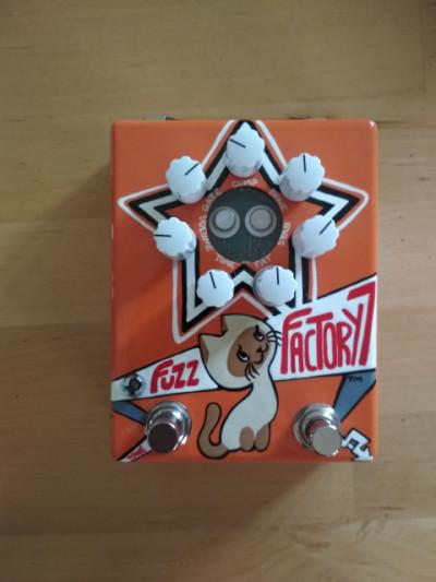 Zvex Russian Fuzz Factory 7 (envío incluido)