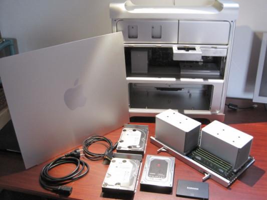 Mac Pro 4.1 de 2009 doble procesador y admitiria Mojave