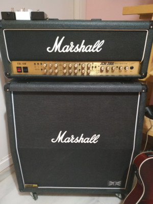 Marshall JCM2000 TSL100 + Pantalla 1960A inglesa