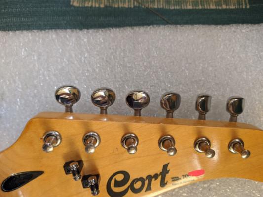 envío incluido - Clavijero Clavijas 6 en linea guitarra Cort año 97
