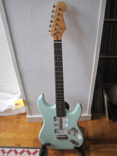 RESERVADO Mástil de guitarra tipo Stratocaster no Fender