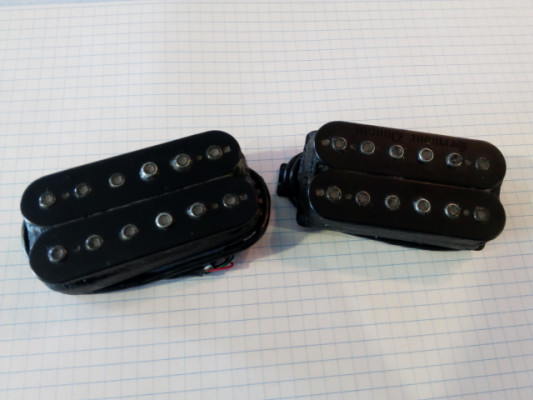 Pack Seymour Duncan 'Blackened' Black Winter