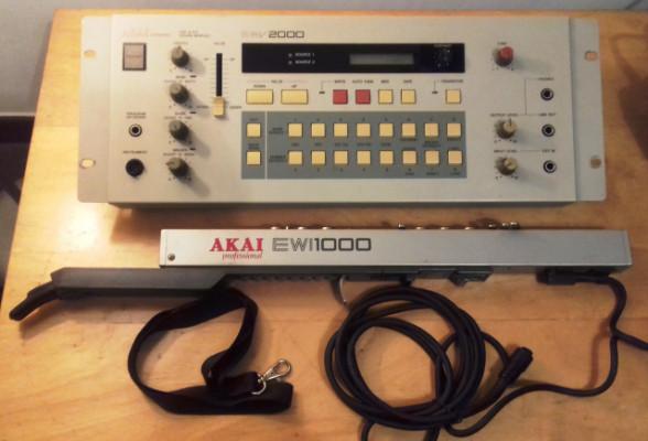AKAI EWI EWV 2000 + EWI 1000