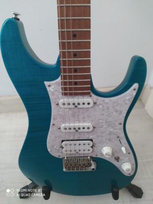 IBANEZ AZ2204 TAB Prestige (Transparent Aqua Blue)