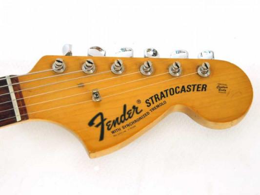 Mástil stratocaster 70's