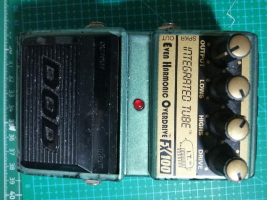DOD FX100 Integrated Tube Even Harmonic Overderive