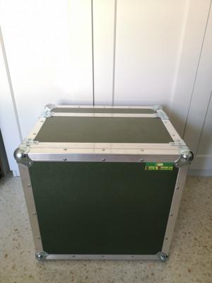 Flightcase Custom Kemper Powerhead + 2U Rack