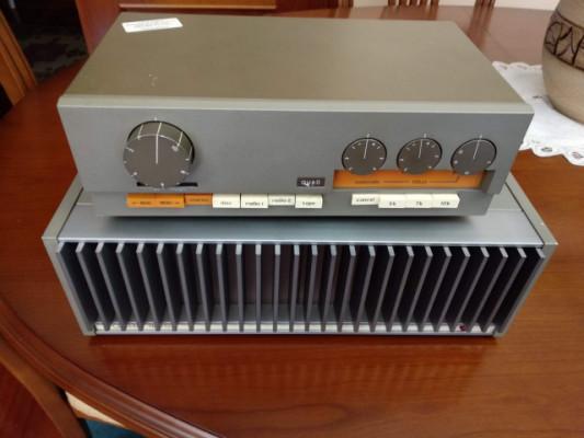 Previo y amplificador de potencia Quad 33/ Quad 405-1