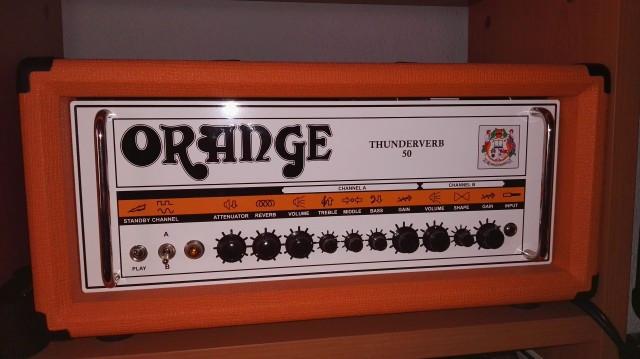 Vendo o cambio Orange thunderverb 50 h VENDIDO