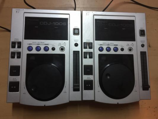 2 x PIONEER CDJ-100S